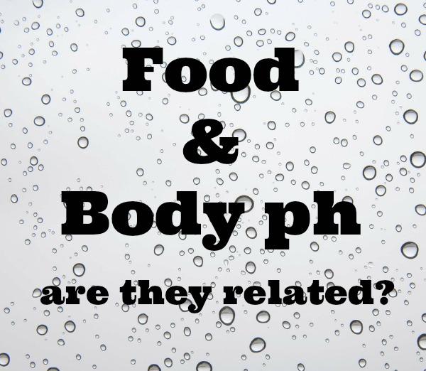 food body ph